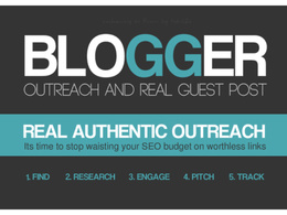 Do Blogger Outreach And Niche Guest Posting SEO Service