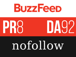 Write and publish a guest post on BuzzFeed BuzzFeed.com or Medium.com DA 83