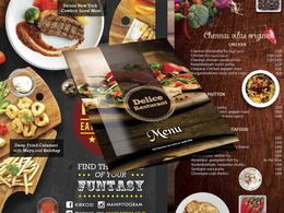 Design elegant menu, price list