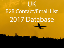 Send you 148000 Uk b2b contact or emails database