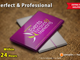 Design you a professional business card