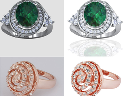 Remove 40 Jewellery Image Background and Retouch