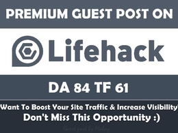 Guest post on LifeHack DA83 PA86 with Do-Follow link