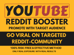 Promote YouTube Video On REDDIT