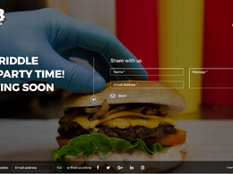 Create a Squeeze Page/Sales page/Coming Soon landing page