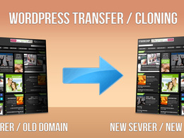 Migrate/Transfer a Wordpress site to a new host or new domain within hour.