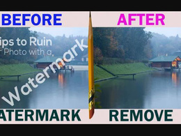 Remove Watermark From Any Kind Of 10 Images