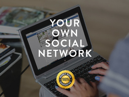Create your own social network or community site