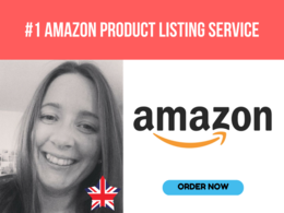 Write / Provide Optimized Amazon Title Descriptions KW Research