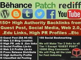 Monster SEO Package - 300+ HIgh Quality SEO Backlinks