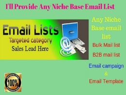 Do collect any niche base email list