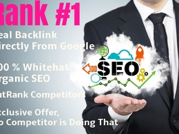 Most Effective SEO *Organic Whitehat SEO*100% Guaranteed Ranking