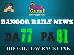 Publish a Premium Guest Post on Bangordailynews.com - DA77, PA81