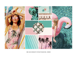 Create a trend moodboard for your brand or business