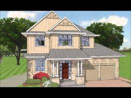 Do a 3d house exterior