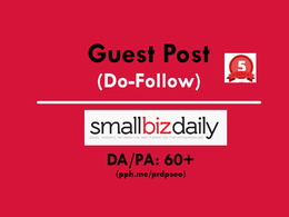 Guest Post on smallbizdaily / smallbizdaily.com (Do-Follow)
