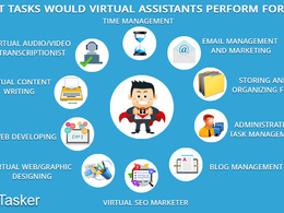 Be you professional virtual assistant for an hour
