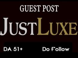 Guest Post Justluxe Travel Fashion Blog Website