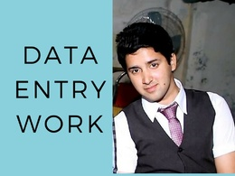Complete your Data Entry Work with 100% Accuracy within time.