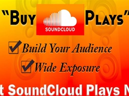Provide 30,000 High retention SoundCloud plays to your track