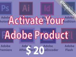Activate Your Any Adobe Software [Each Product for Only $20 ]