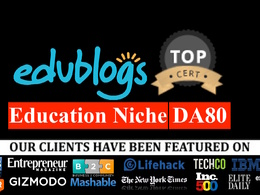 Publish guest post on edublogs.org Education Niche DA80 dofollow link