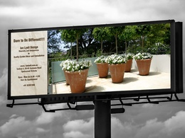 Design billboards outdoor signage display pop up roll up banner