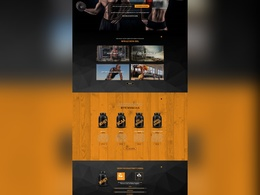 Design PSD of website template