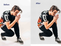 Background Remove from 15 Images Professionaly