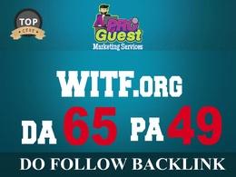 Publish a Premium Guest Post on WITF.org - DA65, PA49, TF51