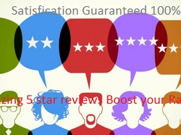 Provide 5 social media 5 Star Review boost your ranking