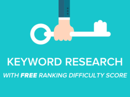 Keyword research for SEO or PPC with FREE ranking difficulty score