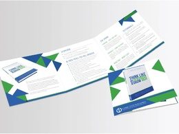 Design your professional trifold brochure