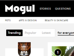 Write and publish a guest post on Onmogul.com