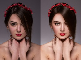 Retouch your 2 images professionally