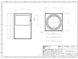 Create an engineering drawing for manufacture