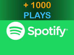 Add 1000 Plays to your Song on Spotify