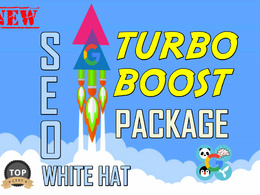 Turbo Boost Your Rankings with Power SEO Package, White Hat Backlinks