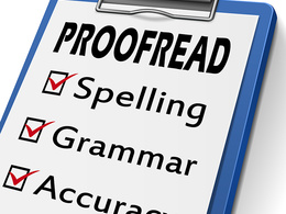 Proof Read English (up to 200 Words)