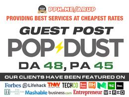Write & Publish Guest post on Popdust | Popdust.com