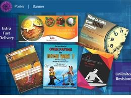 Design a Poster / Banner / Dangler