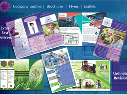 Design your flyer, brochure, company profile
