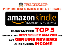 Do Amazon SEO and Rank your Amazon Kindle Book in Top 5 make Guaranteed Income