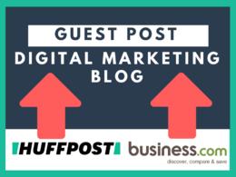 Publish Guest Post on my DA 24 TF 15 Digital Marketing SEO Blog Do Follow Backlink