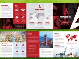 Design an A4/A5 professional brochure