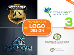 Professional & *Premium Quality* Logo Design + Free Favicion + Free Source Files