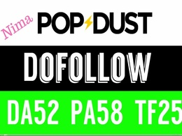 Publish A Dofollow Guest Post On Popdust