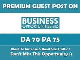 Write & Publish Guest Post on Business-opportunities.biz