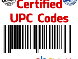 Deliver 1000 UPC/EAN code Numbers GS1 approve Lifetime Guarantee for eBay Amazon