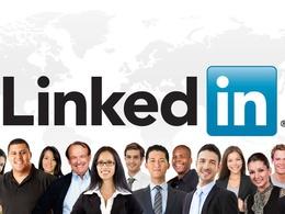 Market your LinkedIn profile for 4 weeks